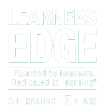 Learners Edge 15 Year Anniversary Logo